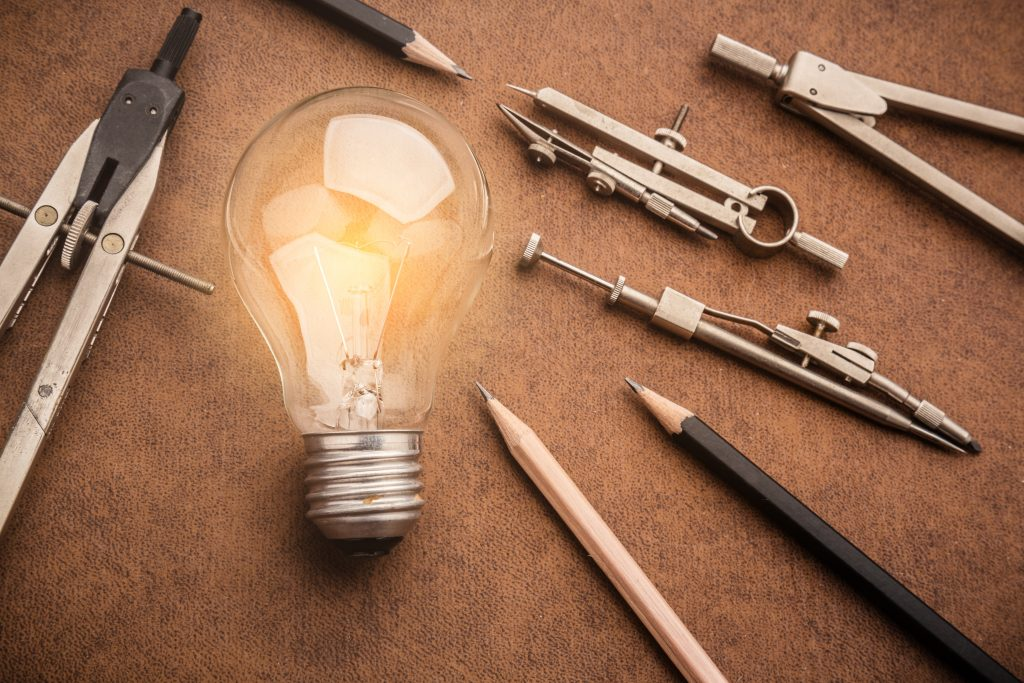 Drawing Tools and Lightbulb